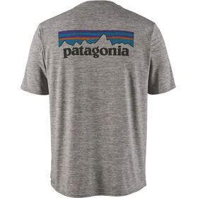 Patagonia M's Cap Cool Daily Graphic T-Shirt P-6 Logo/Feather Grey